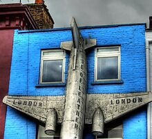 Plane - Camden High Street by Victoria limerick