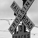 Railroad Crossing by Ashli Amabile