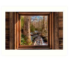 Tub Mill -  Window Art Print