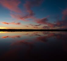 Halite Lake, Coorong, South Australia by Neville Jones