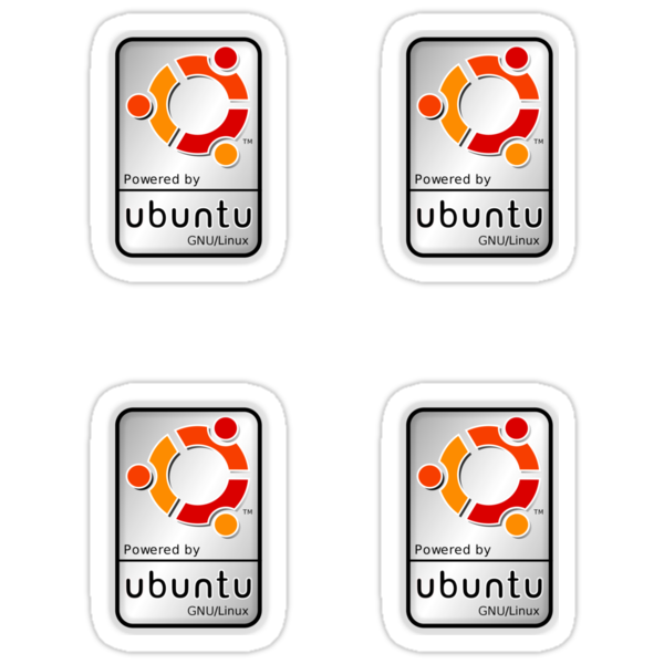 Powered by Ubutnu x 4 by Rob Brown
