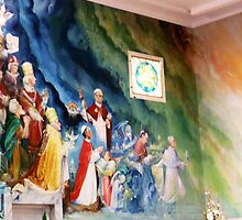 Mural at St Gabriel's by TonyCrehan