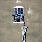 Defaced Banksy by Celia Strainge