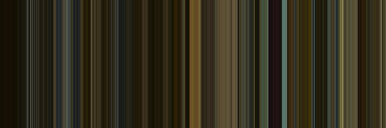 Moviebarcode: The Social Network (2010) [Simplified Colors] by moviebarcode