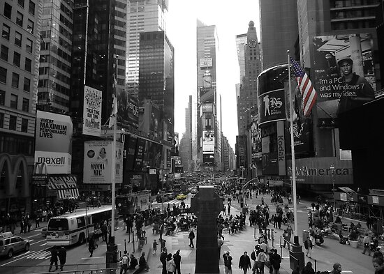 New York, Times Square  by scotsgeezers