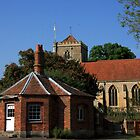 Dorchester Abbey by Mark Hughes