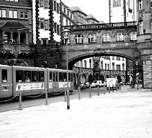 Frankfurt street scene by wildone