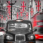 UK. London. Regent Street. Union Jack decorations for Royal Wedding.(Alan Copson ©) by Alan Copson