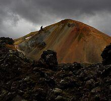Volcano Brennisteinsalda near Landmannalaugar by Agnar Danielsson