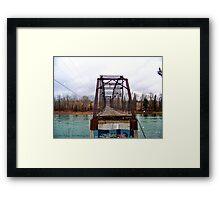 A Bridge Too Far Framed Print