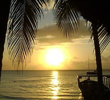 Jamaican Sunset, Negril 2 by Mowny