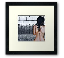 The Woman Caught in Adultery Framed Print