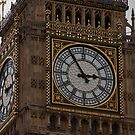 The Face of Big Ben by eegibson