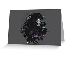 Ever Expanding Black Mass Greeting Card