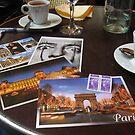 Postcards from Paris by Midori Furze
