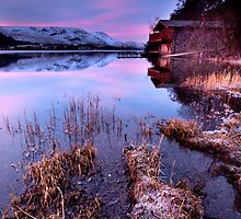 Pooley Bridge Boathouse by Dave Hudspeth
