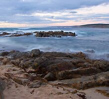 Inji Point - Injidup Beach Western Australia by Chris Paddick