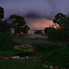 Late afternoon storm approaching by Phil Harvie