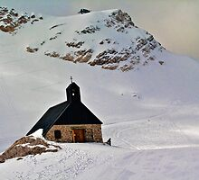 Highest church in Germany by Vinay Rathore