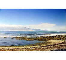 Capetown View from Robben island, South Africa Photographic Print