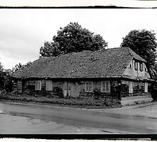 Old house in the Village by Anetka