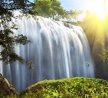 Elephant waterfall by MotHaiBaPhoto Dmitry & Olga