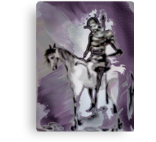 My weary knight Canvas Print