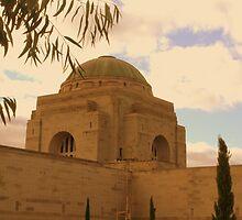War Memorial Dome by Sally Haldane