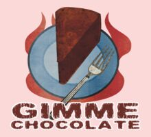 Gimme Chocolate by evisionarts