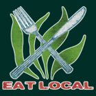 Eat Local by evisionarts