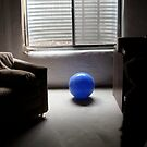 blue ball... by Marianna Tankelevich