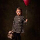 Girl And Balloon by Bill Gekas