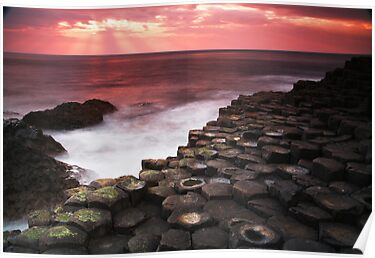 The Giant's Causeway by Paul McSherry