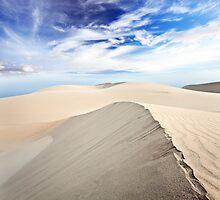 Beautiful sandy desert at day time by MotHaiBaPhoto Dmitry & Olga