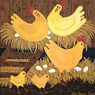 'Chookie House' - A little bit of Country... by Lisa Frances Judd~QuirkyHappyArt
