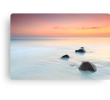Sunrise over the sea. Canvas Print