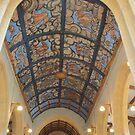 The Angel Ceiling, Muchelney, Somerset by Dave Godden