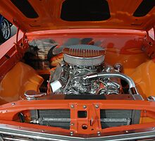 Under the Hood  '67 Chevelle  by Wviolet28