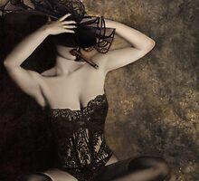 Sensuality in Sepia - Self Portrait by Jaeda DeWalt