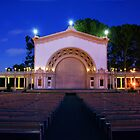 Balboa Park Amphitheater by Eddie Yerkish