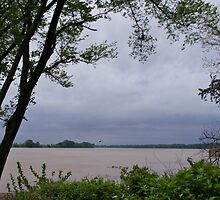 Ohio River  by Sandy Keeton