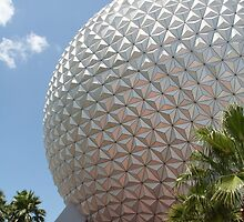 Spaceship Earth - Walt Disney World by searchlight