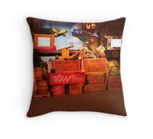 Muppets 3D Adventure - Walt Disney World Throw Pillow