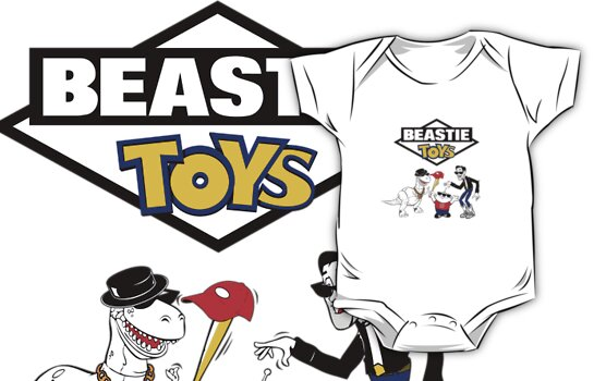 Beastie Toys by cubik