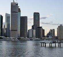 Riverside in Brisbane by Ian McKenzie