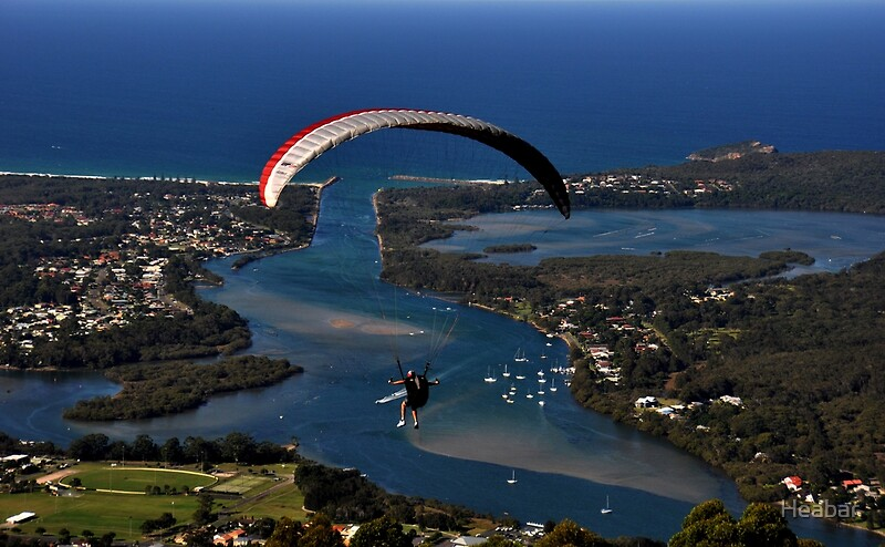 Harrington Australia  city photo : Paragliding to Harrington NSW Australia !!!