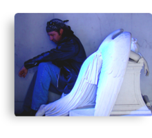 Angel And The Badman Canvas Print