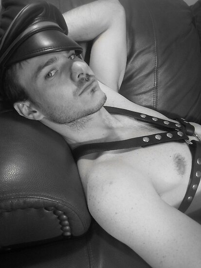 Leather boy by BOBBYBABE