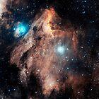 Pelican Nebula by StocktrekImages