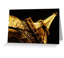 A Towering Eiffel Greeting Card